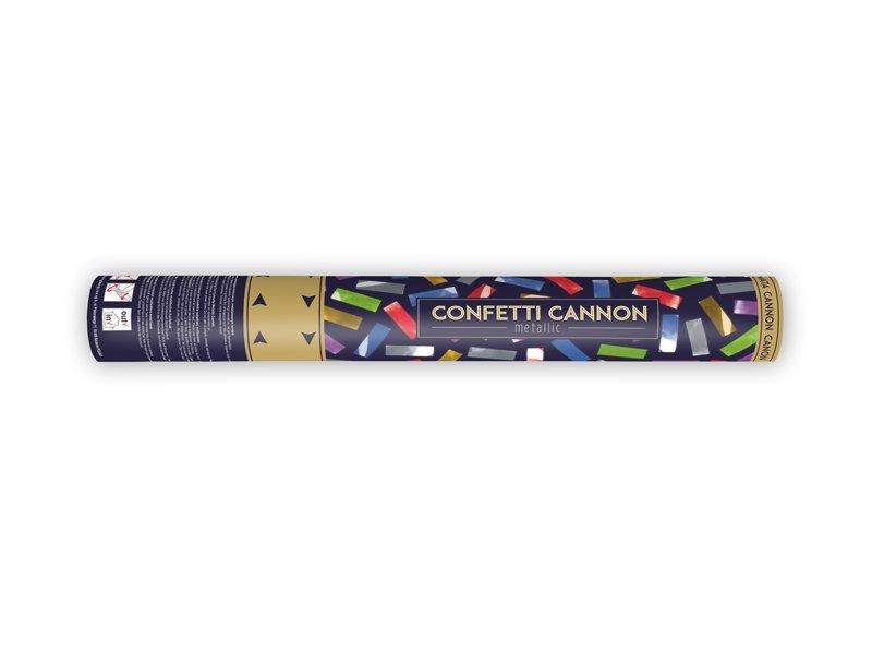 <b>Cañón de Confeti</b><br>Colores variados</b> <br> 40 cm